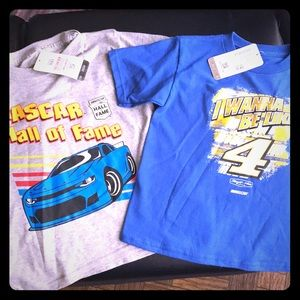 Other - NASCAR boys racing t shirts